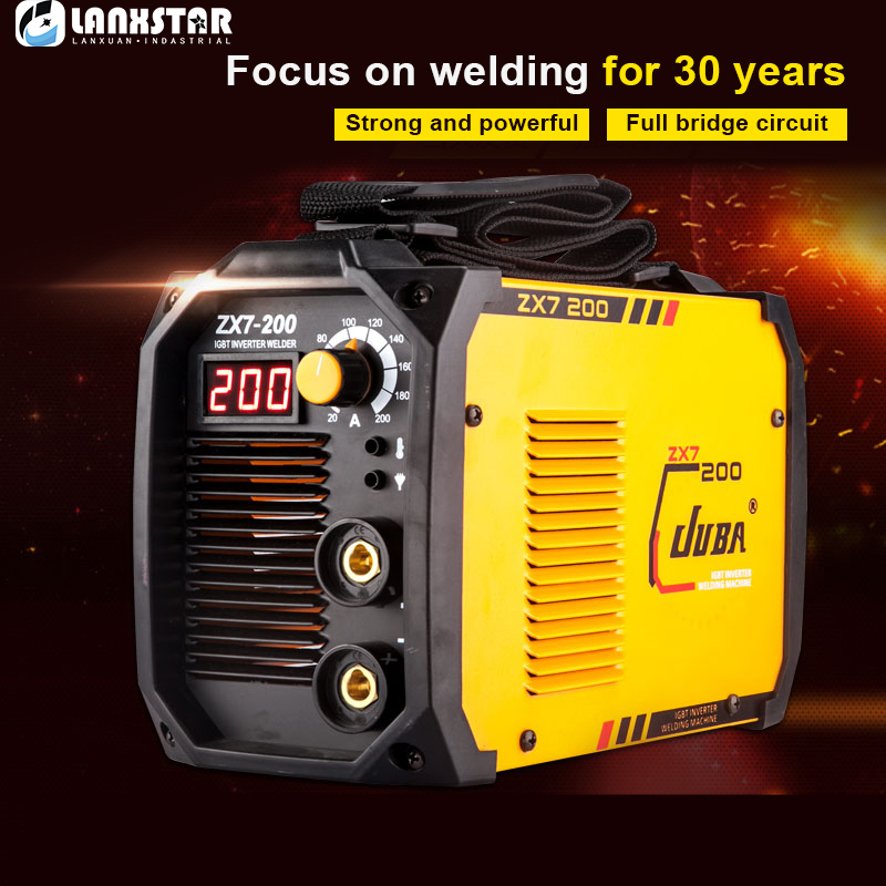 New Electric Arc Welder Inverter Electric Welding Machine 200A IP21S Arc Welder Inverter Welding Machine portable arc welder household inverter high quality mini electric welding machine 200 amp 220v for household