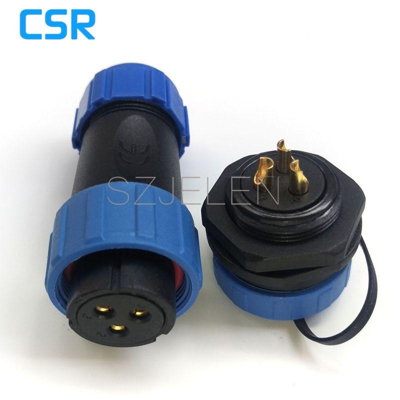 SP2110/S3 P3, 3 pin Wasserdichten stecker, 3 pin industrie ...