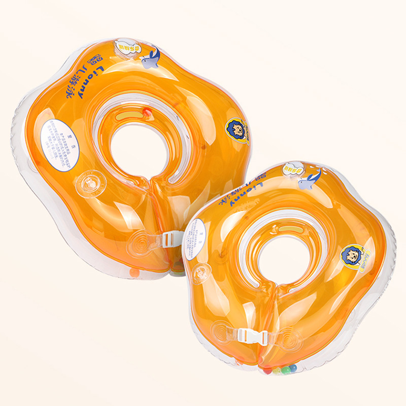 2018 Inflatable circle Swim Neck Ring infant Swimming accessories swim neck baby tube ring safety neck float circle bathing