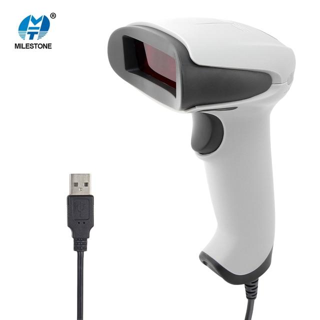 Laser Wired Barcode Scanner 100 scans/s Laser Barcode Readder MHT-2012 Barcode Scanner Billing Machine