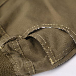 Image 5 - Nova moda primavera verão outono meninos calças 100% algodão calças criança casual comprimento total sólida para crianças 6 14years