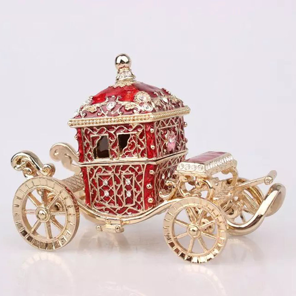 Buy jeweled crown carriage jewelry box for Jewelry for mom for christmas