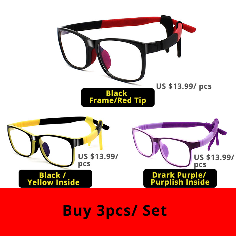 VANLOOK Transparent Kid Computer Glasses for Children Anti Blue Ray Spectacle Frame Oculos De Grau Fashion Eyeglasses Silicone