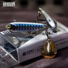 Kingdom 2019 New VIB Fishing Lures High Quality 45mm/10g 54mm/15g Artificial Baits Two types of Actions Wobblers Fishing Tackle(China)