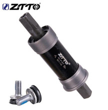 ZTTO Bicycle Square Tapered Threaded Bottom Bracket BSA80x142 100x155 100x177mm For Axis QuareHole Crankset Fat Snow Bike