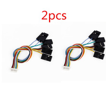 цена на 2pcs 6 IN 1 Flight Controller 8 pin Connection Cable Set For Mini CC3D,CC3D EVO Hot