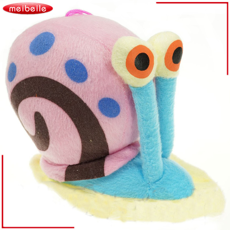 New 15CM Cartoon Animal Doll Toy Stuffed Plush Pendant Snail Dolls Kids Toys For Children Kids Baby Gift Best Brinquedos