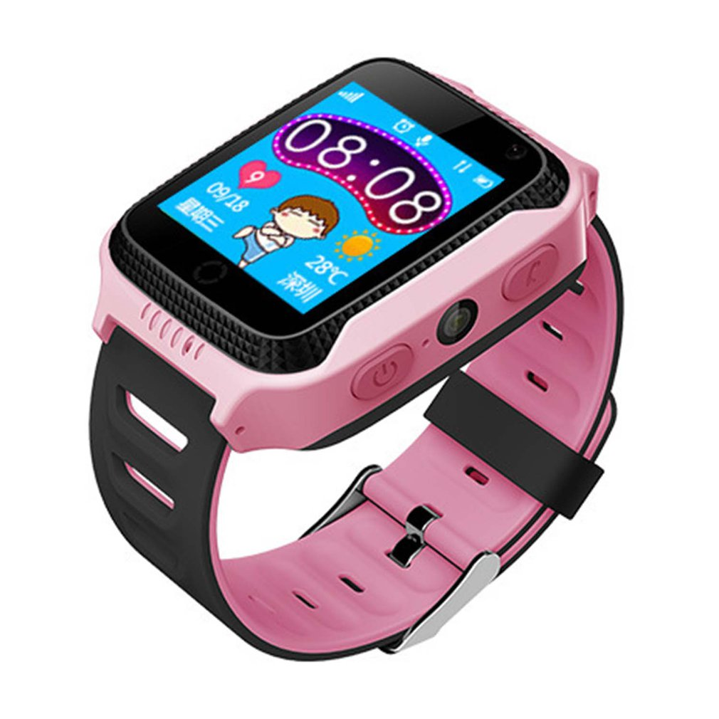 Kinderuhren Gps Lage Tracker Touchscreen Q529 Smart Uhr Kinder Armbanduhr Mit Taschenlampe Kamera Sos Anruf Unterstützung Russisch/englisch Ein BrüLlender Handel
