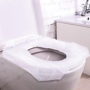 Universal Toilet Disposable Sticker Toilet Seat Cover Business Travel Stool Set toilet seat