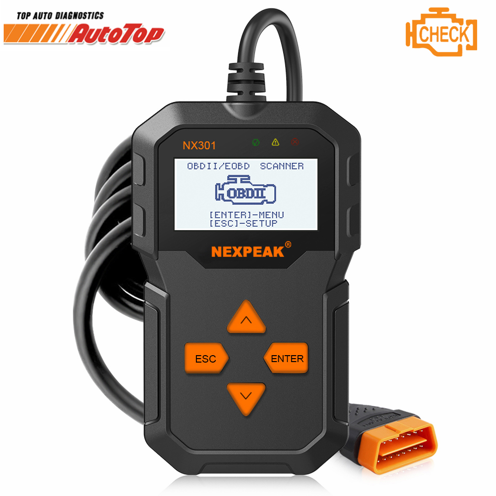 OBD2 Automotive Scanner Multi-sprachen Universal OBD2 Auto Diagnose Scanner Volle OBD Modi Scan Werkzeuge Diagnose Auto ODB 2