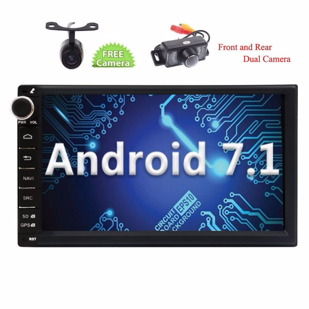 Eincar Android 7.1 Nougat 2din Car Stereo GPS