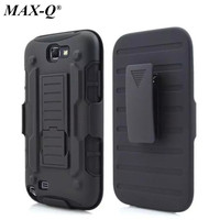 Cool Military Impact Rugged Hybrid Case For Samsung Note 2 N7100 Heavy Duty Kickstand Hard Back