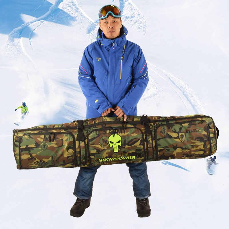 2019 Mới Ván Trượt Tuyết Túi 146 Cm 156 Cm 166 Cm Trưởng Thành Trượt Tuyết Túi Ba Lô Đeo Vai Có Bánh Xe Ván Trượt Tuyết túi