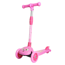 2019 3 Wheels Folding Scooter with Light Up Wheels Adjustable Height for Kids Girls Boys Toys Gifts for Kids Outdoor Toy Scooter