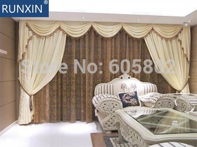 electric Curtain, wide 6-10m, DOOYA motor Sunsflower brand, Chinese top motor brand,