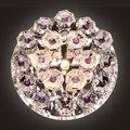 Качественные современные светодиодные потолочные светильники  хрустальные лампы  проходные светильники для отелей  прихожей  потолочные с...