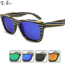 RTBOFY New fashion Products Men Women font b Glass b font Bamboo font b Sun b