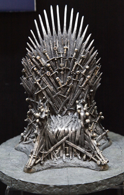 silla juego de tronos