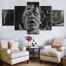 5 Panel/pieces HD Print Linda Blair The Exorcist Movie wall posters On Canvas Art Painting For home living room decoration
