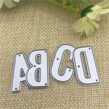 26pcs/Set Alphabet Letter Metal Cutting Dies Stencil for DIY Scrapbooking Album Embossing Paper Cards Deco Crafts Die Cuts(China)