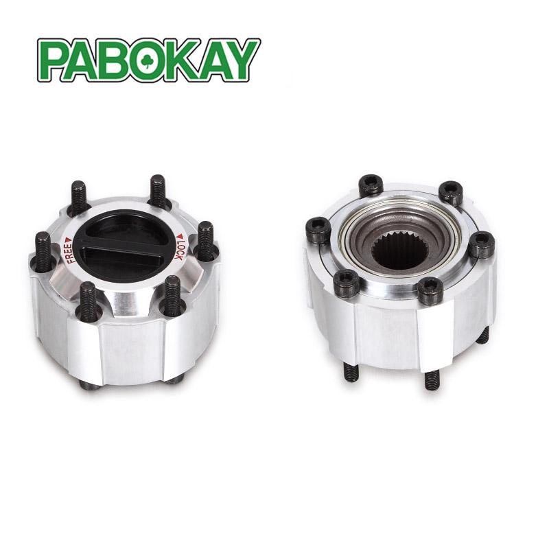 2 pieces x For NISSAN Pickup Pathfinder Navara D21 Terrano I 86-89 manual Free wheel locking hub B015 40250-32G10 4025032G10 цена