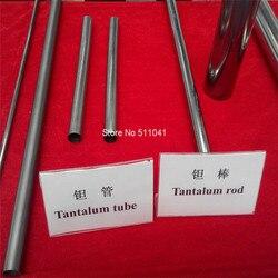 ASTM B521 Ta10W танталовая бесшовная трубка, танталовая труба, танталовая трубка