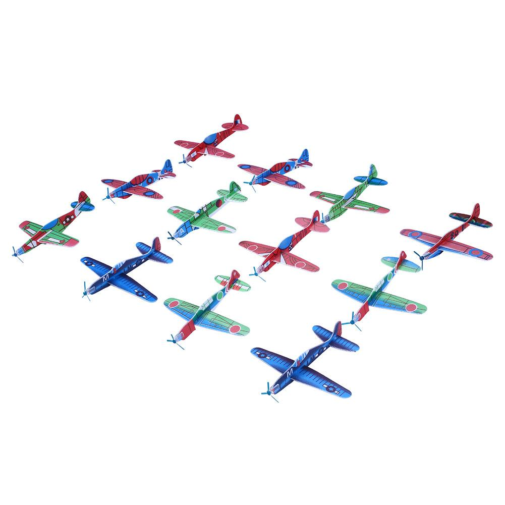 12 Flying Glider Planes Aeroplane Party Bag Fillers Childrens Kids Toys!!!