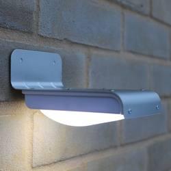 16 светодио дный Солнечный свет настенный светильник Панель питание светодио дный лампы для наружного Солнечный сад безопасности движения