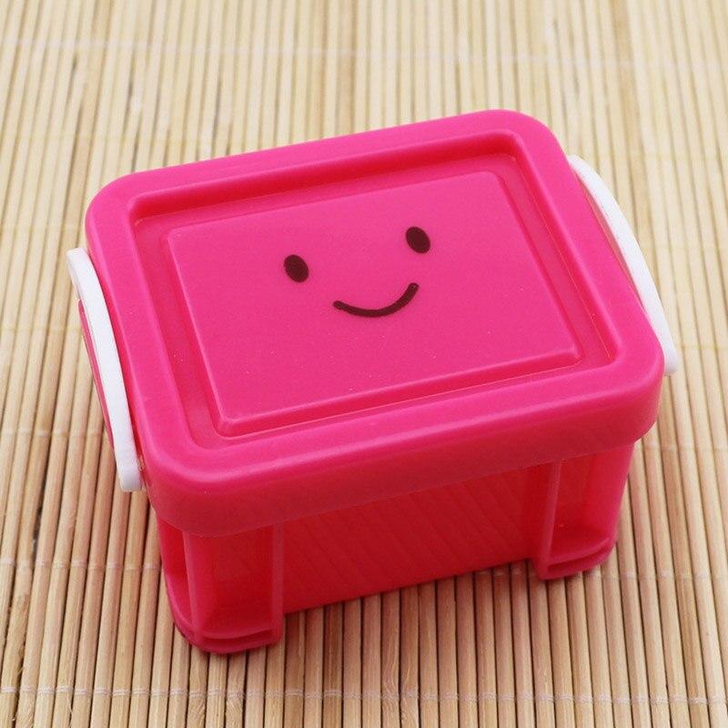 1pcs Small Plastic Mini Desktop Storage Box Cute Jewelry