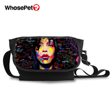 WHOSEPET Cross Body Bags For Women African Girls Style Fashion Messenger Multi-function Casual Shoulder Shopping