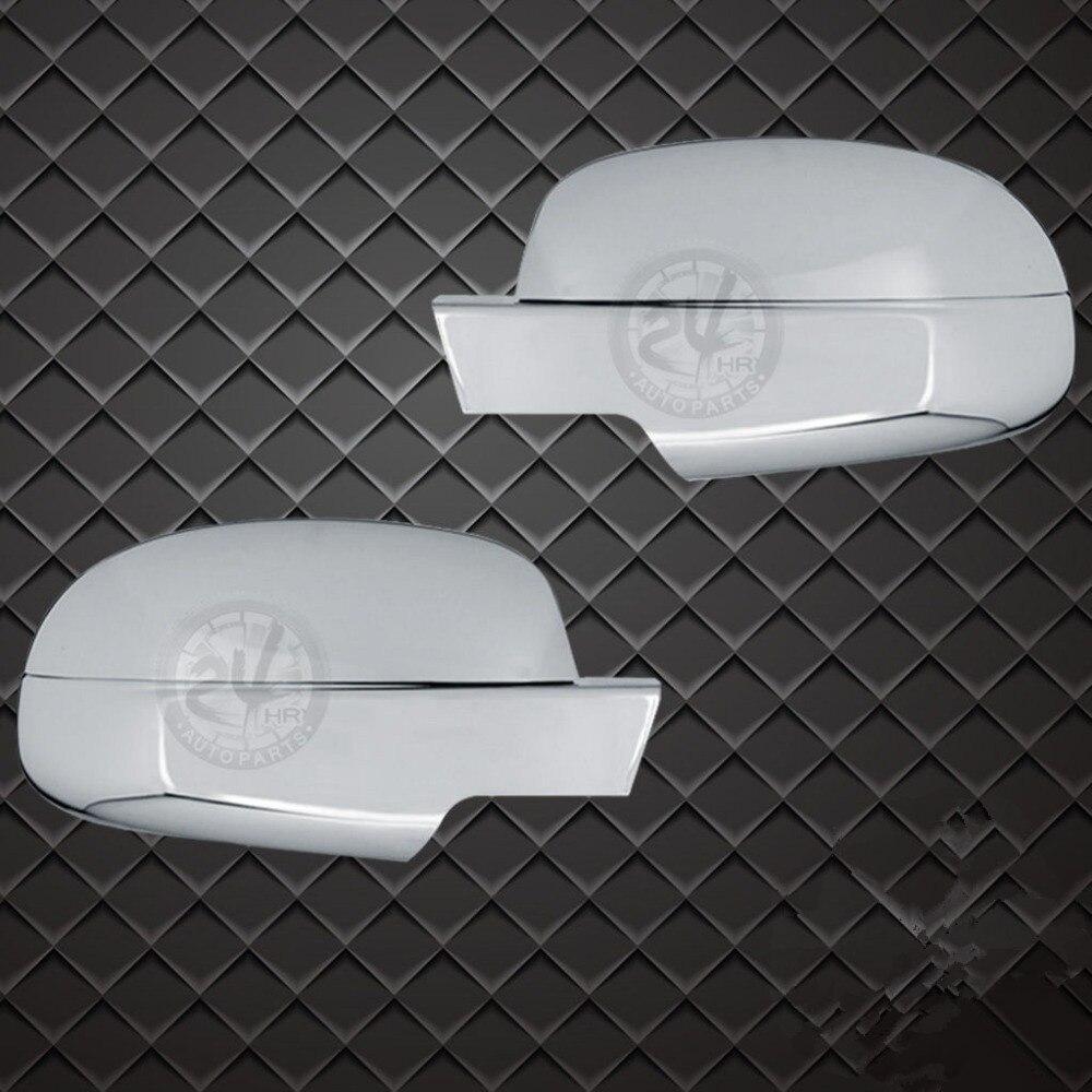 XYIVYG Triple Chrome ABS Mirror Cover 4PCS 2007 14 For 07 14 GMC Sierra 1500 2500