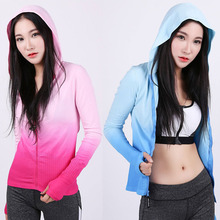 Gym Fitness Sport Sweatshirts with Hoody