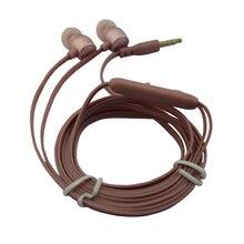 qijiagu 3.5mm 범용 유선 이어폰 헤드셋 스테레오 헤드셋 이어폰 공통 이어폰 형 헤드폰베이스 마이크