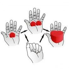 1 Набор фокусов губка сердце любовь шары игрушки подарки крупным планом улица волшебные аксессуары волшебный трюк детский подарок