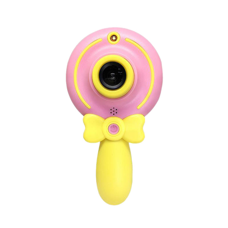 2 Inch Cartoon Lollipop Camera Mini Children Cute Digital Cameras Multifunctional Camcorder Camera For Kids Gift Children'S To