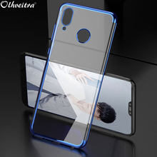 Case For Huawei Y9 2018/Huawei Enjoy 8 Plus TPU Protective Shell Soft Silicon Ultra Thin Clear Cover For Huawei Y9 2019 Case(China)
