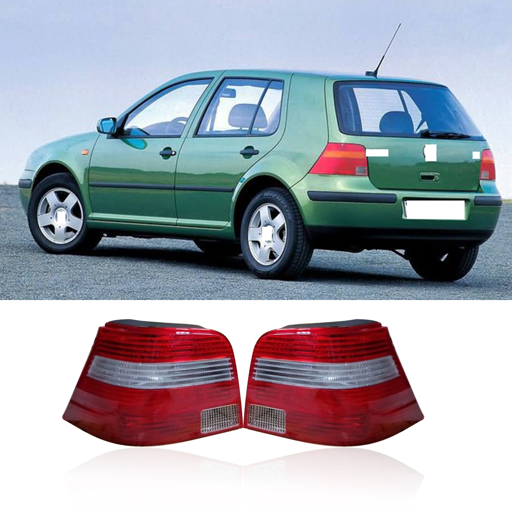 CAPQX 1PC For Volkswagen Golf 4 MK4 1999-2005 Rear Brake light warning Parking Tail Light Taillight Tail lamp stop lamp taillamp