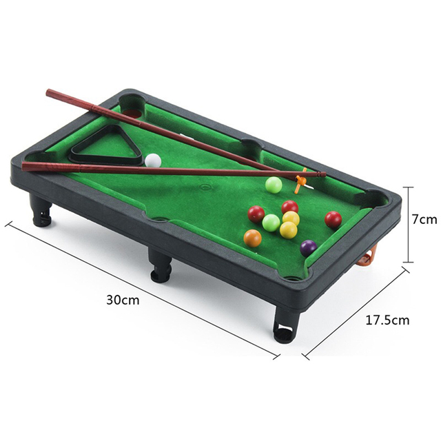 Board Games for Children Mini Billiards Snooker Toy Set Home Party Games Kids Boys Parent Child Interaction Game Education Toys 2