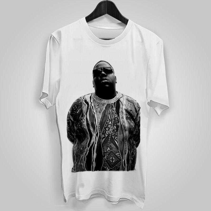 Mens Rare T Shirt Biggie Small Colors Tupac Lil Gangsta Rapper T-Shirt Tees Tops