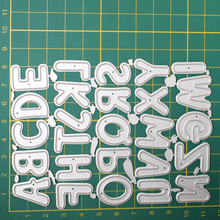 Alphabet Metal Cutting Dies for Card Making