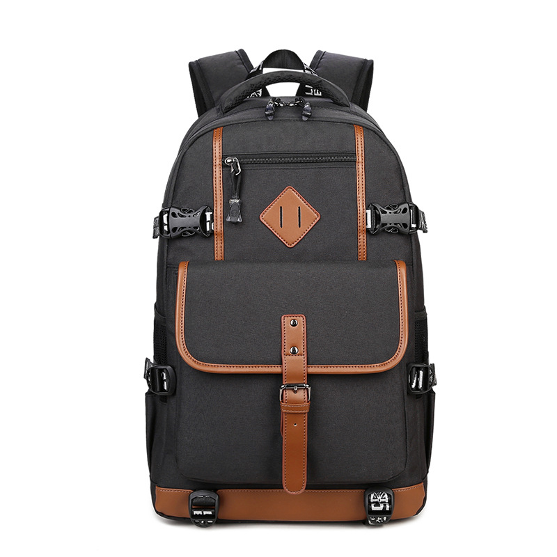 все цены на Men Anti theft Backpack School bags multifunctional Oxford Casual Laptop Backpack Waterproof Travel Computer Bagpack Mochila