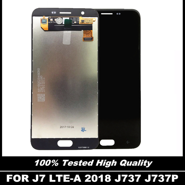 US $45 73 30% OFF|For Samsung Galaxy J7 LTE A J737 J737P Phones LCD Display  Touch Screen Full Digitizer Assembly 100% Tested LCD Replacement Parts-in