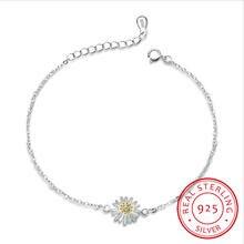 Новый браслет ручной работы в форме цветка хризантемы из 100%