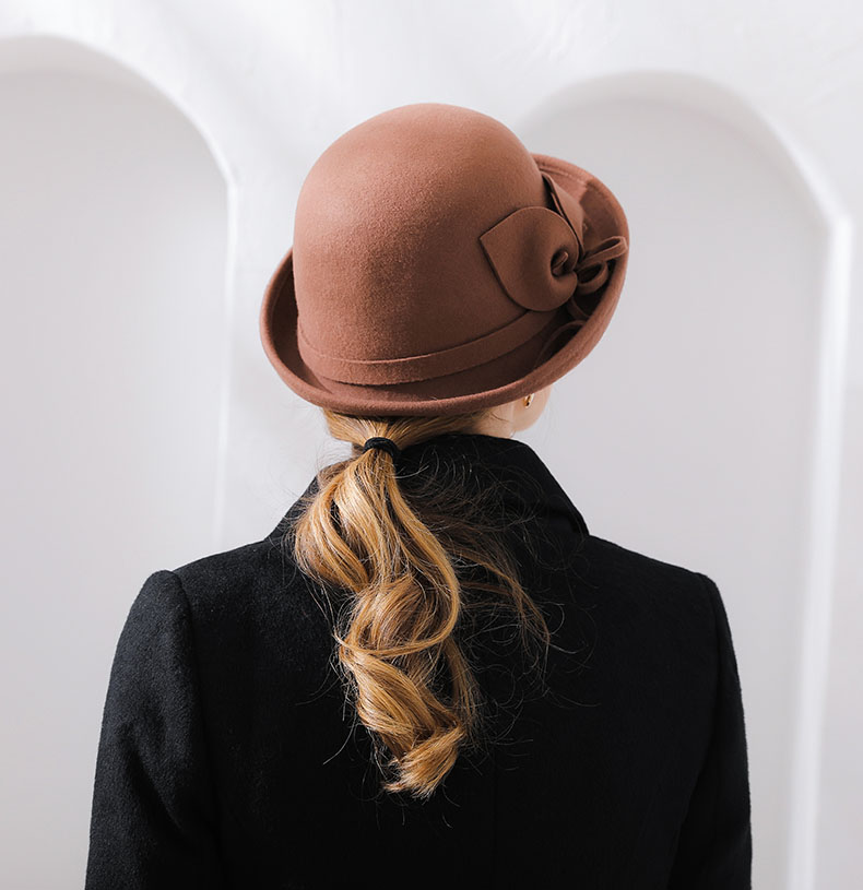 brown hat womens