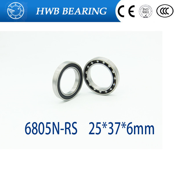 10pcs/lot 6805N-RS 6805 61805 6805-RD 6805N 25376 ball bearing 25x37x6mm bike bottom bracket repair bearing for HT2 BB51 GCR15 6805n hybrid ceramic bearing 25x37x6mm 1 pc bicycle bb51 bottom hub 6805 rd 6805n rs 25376 rs si3n4 ball bearings 6805n 2rs