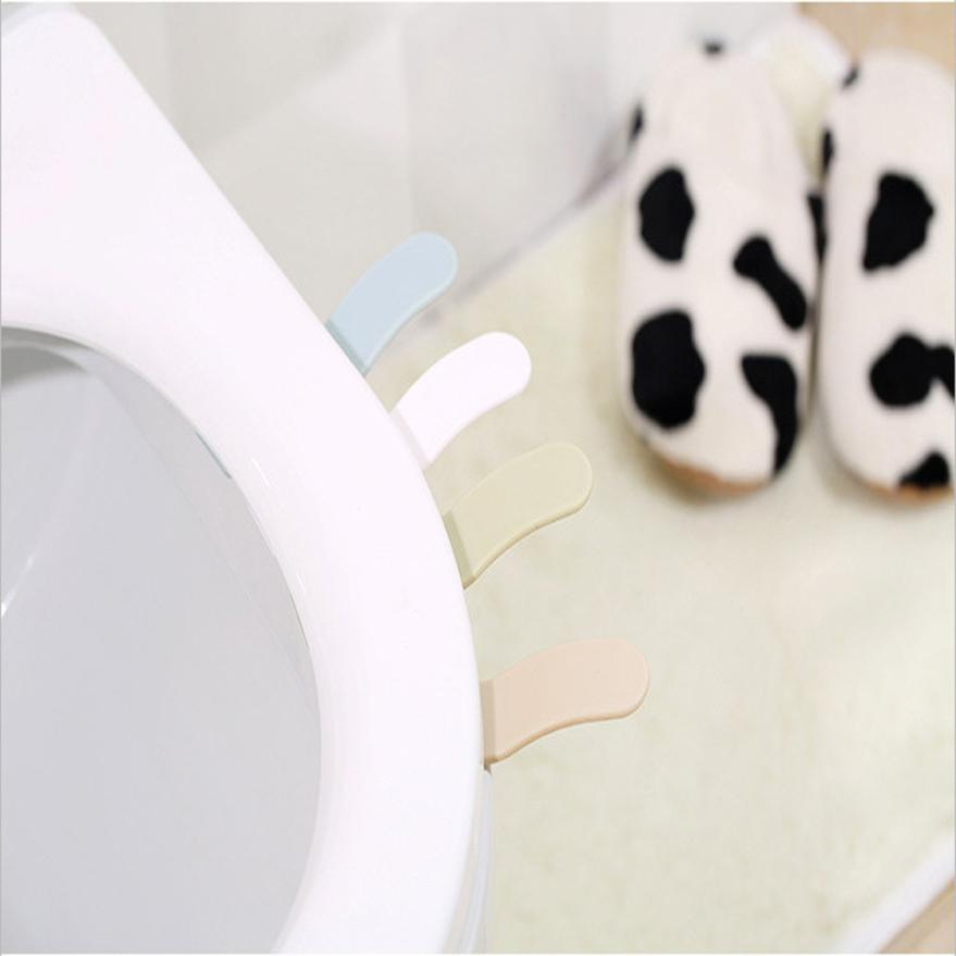 Toilet Seat Cover Lifter Handle Avoid Touching Hygienic Clean June21 Drop Shipping