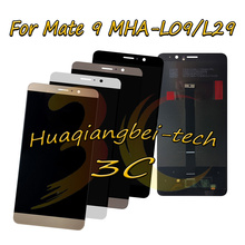 5.9 New For Huawei Mate 9 MHA L09 MHA L29 Full LCD DIsplay + Touch Screen Digitizer Assembly 100% Tested With Tracking