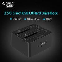 ORICO 6629US3 C 2 5 3 5 USB 3 0 HDD Docking Station SATA External Storage