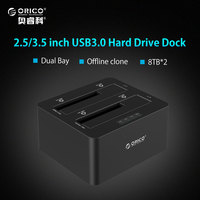 ORICO 6629US3 C 2 5 3 5 USB 3 0 HDD Docking Station SATA External Storage