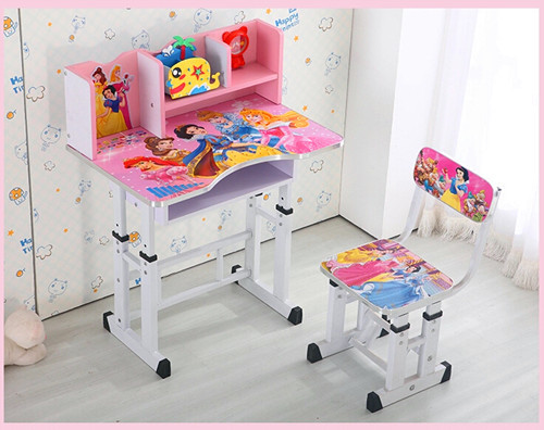 High Quality Factory Direct 1 Sets Children Kids Wooden Study Table And Chair Set Desk Wood Furniture For Child In Tables From